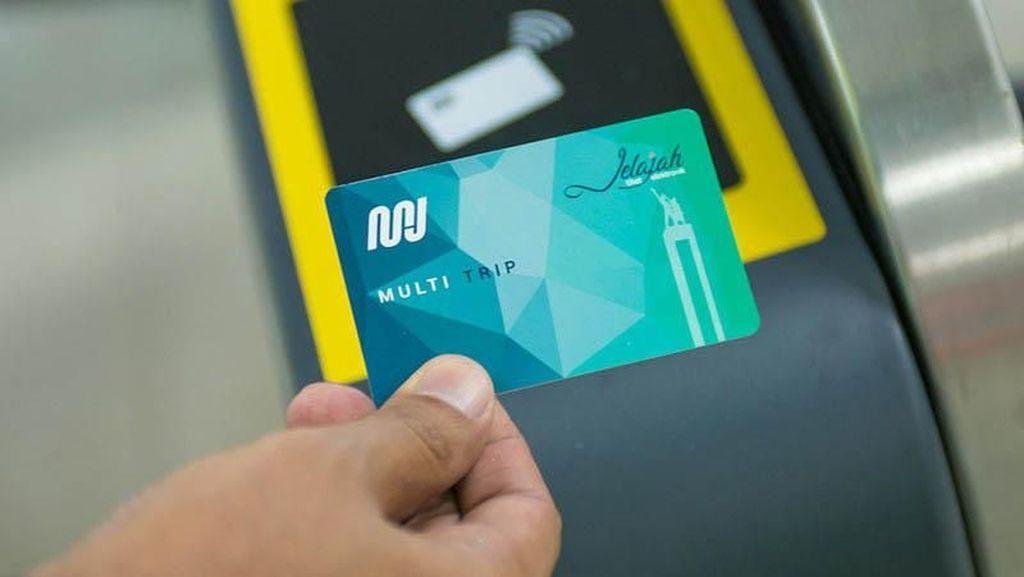 Mulai 25 Maret Naik MRT Mesti Pakai Kartu