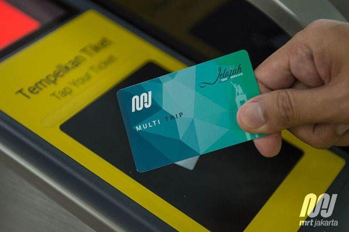 Setidaknya MRT Jakarta telah mencetak sekitar 942 ribu unit kartu kereta. Istimewa/MRT Jakarta.
