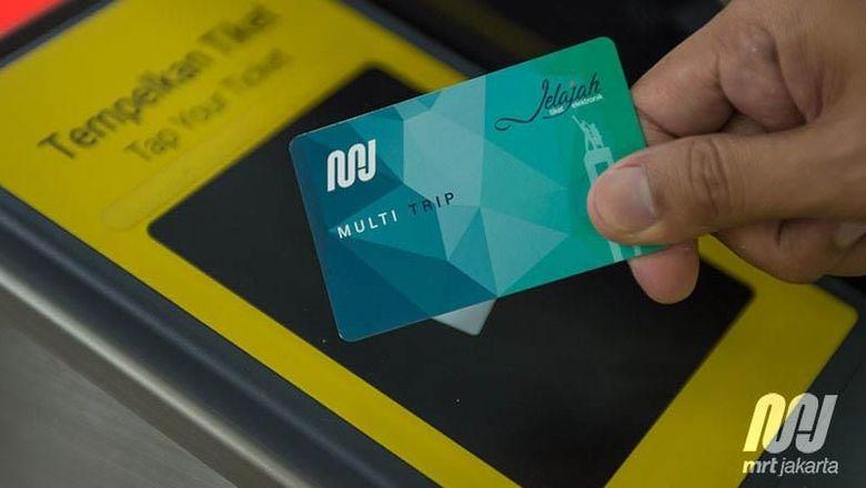 MRT Jakarta segera beroperasi pada Maret 2019 mendatang. Seperti apa penampakan tiketnya?