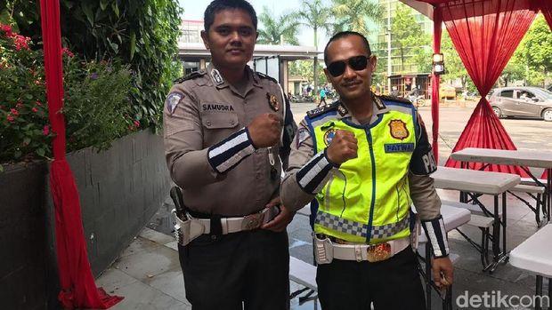 Marc Marquez Ngegas di Bandung