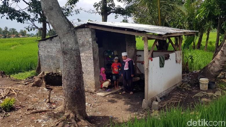 Penampakan Rumah Keluarga Bakri di Cianjur yang Masak Makanan Basi