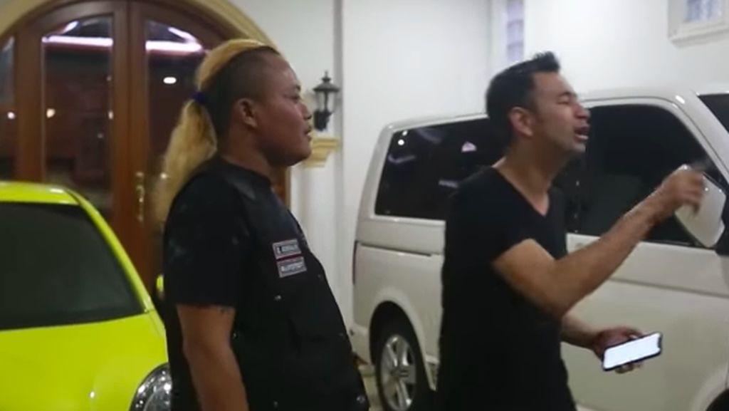 Mampir ke Rumah Sule, Raffi Ahmad Salut dengan Mobil Rp 2,8 M