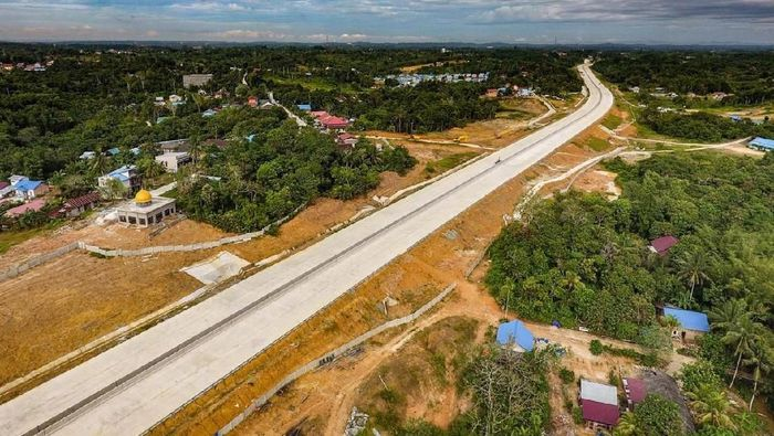 Tol Balikpapan-Samarinda/Foto: Istimewa/PT Wijaya Karya
