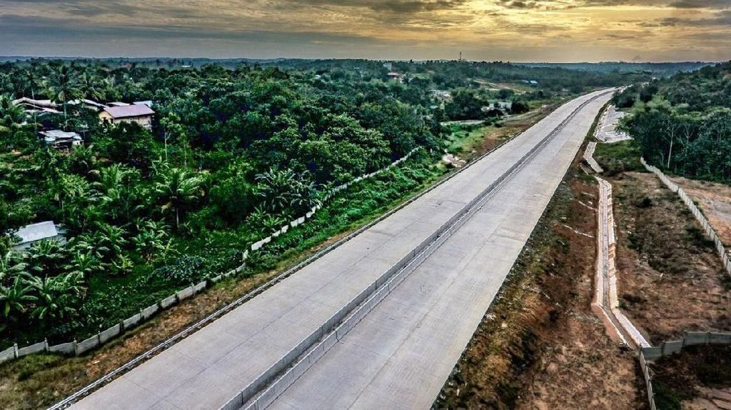 Penasaran Progres Tol Pertama Kalimantan? Ini Lho Penampakannya