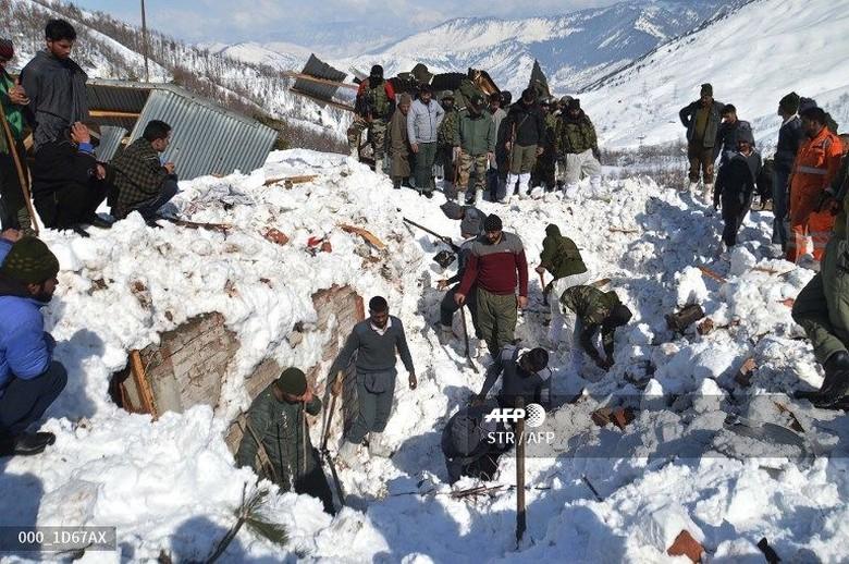 Sejumlah Orang Tertimbun Longsor Salju di Swiss