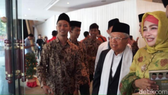 Maruf Amin (Farih Maulana/detikcom)