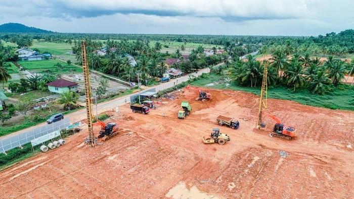 Proyek Terminal Kijing, Pelabuhan Pontianak merupakan Proyek Strategis Nasional yang dibangun dalam rangka menyambut era pasar bebas.