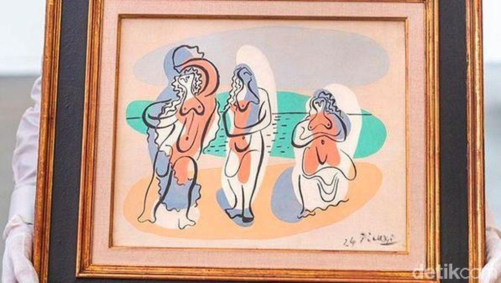 Tertarik Beli Lukisan Telanjang Karya Picasso Senilai Rp 19 M?