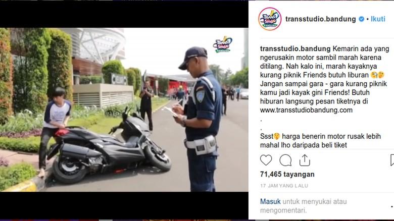 Foto: (Instagram/Trans Studio Bandung)