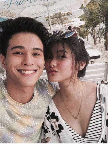 Janica Nam Floresca dan pacarnya Franco Hernandez.