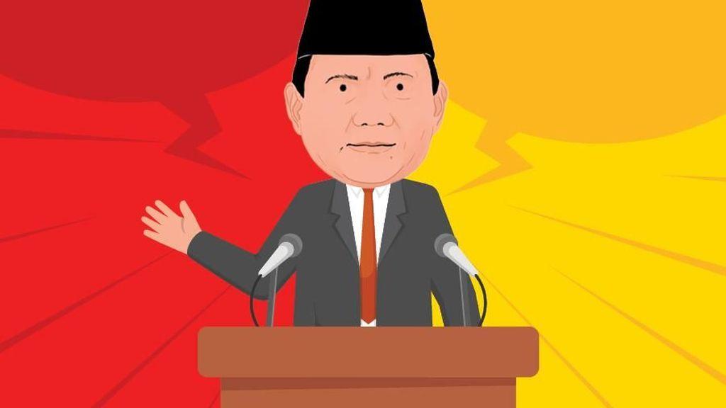 Pesan Prabowo: Kita Harus Jaga Kekayaan RI Agar Tak ke Luar Negeri
