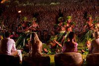 Ragam budaya masyarakat Fiji yang ditampilkan (Laucala Island/Facebook)