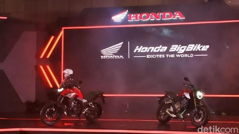 Honda CB650R Foto: Ridwan/detikOto