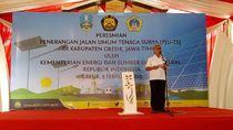 1.200 Lampu Surya Terangi Jalan Raya 4 Kabupaten di Jawa Timur