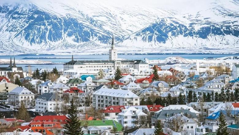 Reykjavik di Islandia (iStock)