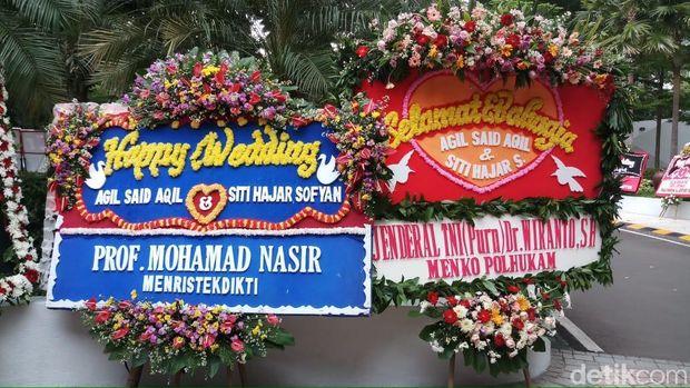 Ma'ruf Amin Jadi Saksi Pernikahan Putra Said Aqil