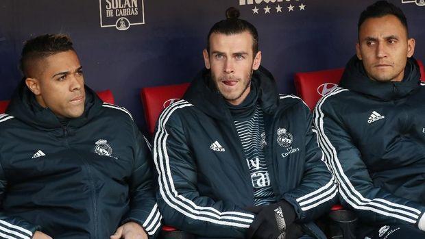 Gareth Bale sempat duduk di bangku cadangan sebelum tampil dan mencetak gol. (
