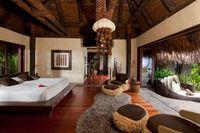 Kamar di dalam villa (Laucala Island/Facebook)