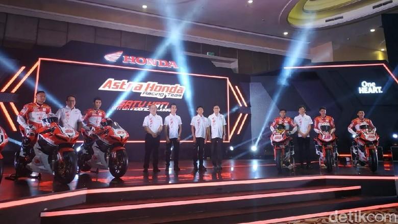 Astra Honda Racing Team Foto: Ridwan/detikOto