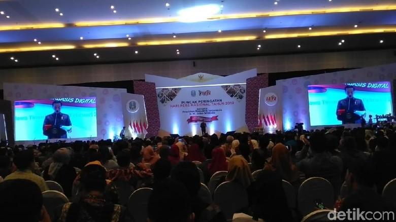 Jokowi: 63% Masyarakat Lebih Percaya Media Arus Utama
