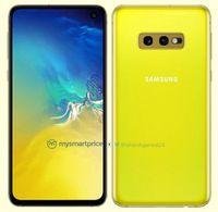 Penampakan Ponsel Flagship 'Murah' Galaxy S10E Warna Kuning