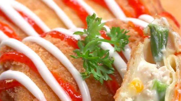 Resep risoles mayonnaise