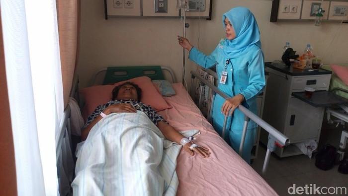 Angka pasien yang masuk dirawat di rumah sakit karena demam berdarah mulai menurun. (Foto: Aji Kusuma/detikcom)