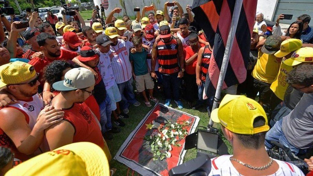Kebakaran di Asrama Klub Bola Brasil, 10 Pemain Muda Tewas