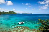 Bentang alam pulaunya yang indah (Laucala Island/Facebook)
