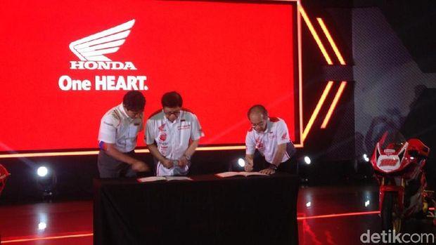 AHM Jalin kerjasama dengan Repsol Honda