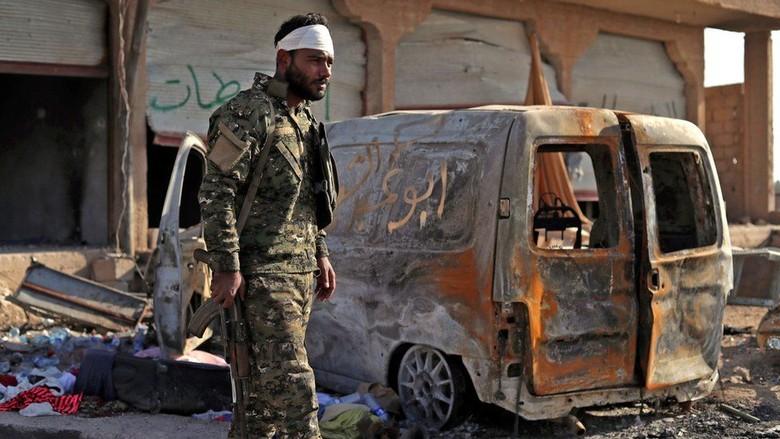 ISIS Lakukan Perlawanan Terakhir di Suriah Timur