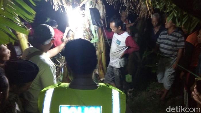 TKP warga Ngawi tewas hirup gas beracun (Foto: Sugeng/detikcom)