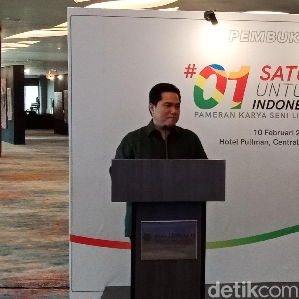 Erick Thohir Soal Debat: Jokowi Sudah Melakukan, Bukan Hanya Janji