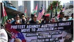 Demo Rencana Relokasi Kedubes Australia ke Yerussalem Picu Penutupan Pos Diplomatik