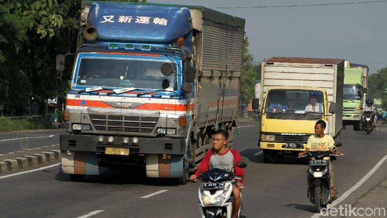 Arus Mudik, Kendaraan Besar Dilarang Masuk Jalur Cikidang-Loji