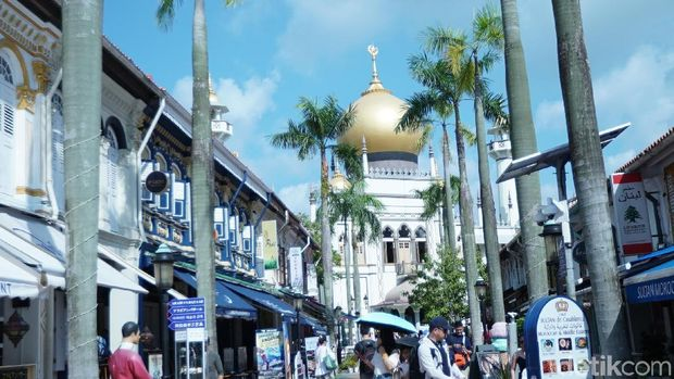 Asyik Banget, d'Traveler Jalan-jalan Keliling Singapura