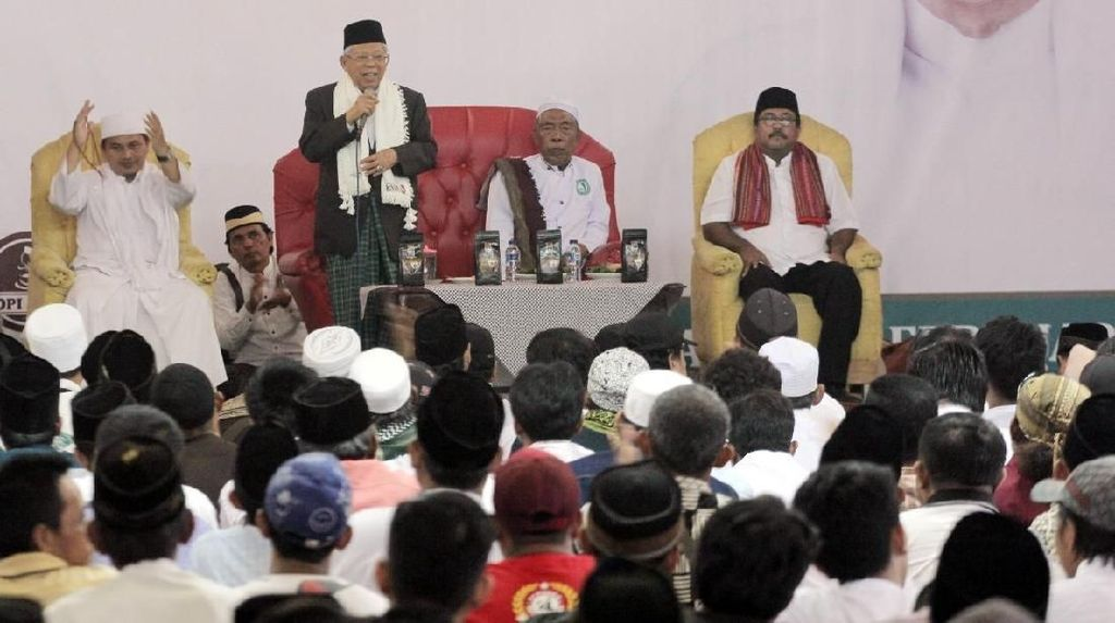 Si Doel Deklarasikan Relawan Tangerang Ngahiji Pro Jokowi-Maruf