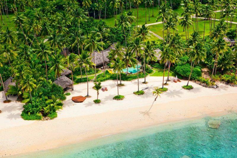 Pulau Laucala berada di Fiji, Samudera Pasifik. Island Private Resort, inilah pulau pribadi yang disewakan seharga Rp 1,8 miliar per malam (Laucala Island/Facebook)