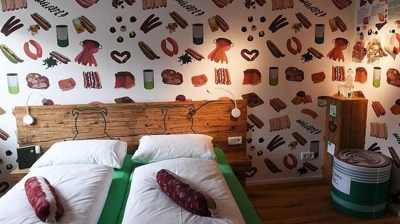 Hotel bertema sosis bratwurst di Jerman (AFP)