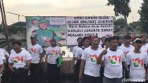 Driver Ojek Online Ojolali Dukung Jokowi-Maruf Amin
