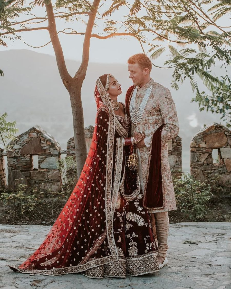 Foto: Pernikahan Mewah Selebgram India, Ganti Baju Pengantin 8