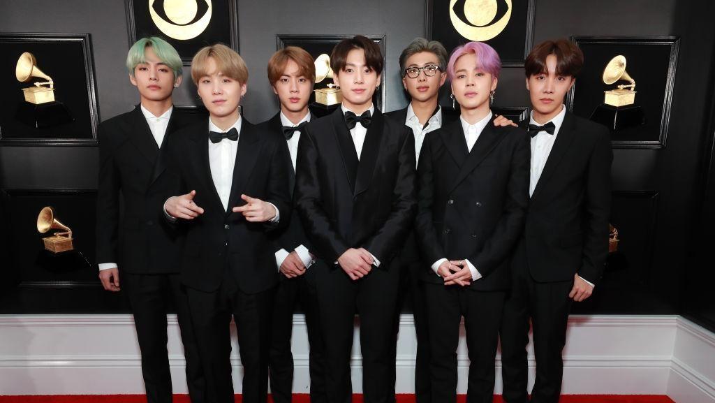 Setelan Jas BTS Bakal Dipamerkan di Museum Grammy