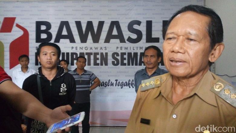 Bawaslu Periksa Bupati Semarang Terkait Deklarasi Dukung Jokowi