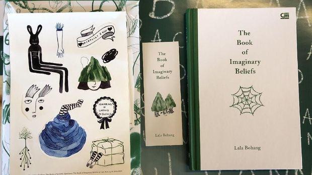 Buku terbaru Lala Bohang 'The Book of Imaginary Beliefs'