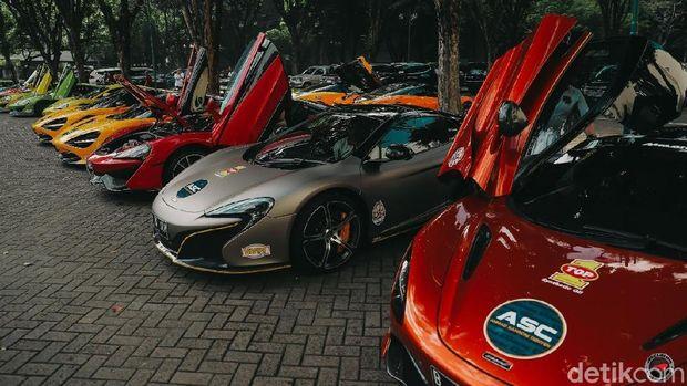 McLaren Club Indonesia (MCI) ngegas di Trans Jawa