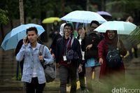 Ilustrasi hujan di Jakarta (Rifkianto Nugroho/detikcom)