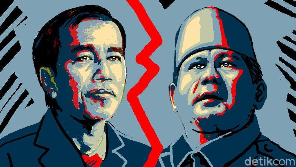Panas, Sahut-sahutan Jokowi dan Prabowo Soal Lubang Tambang