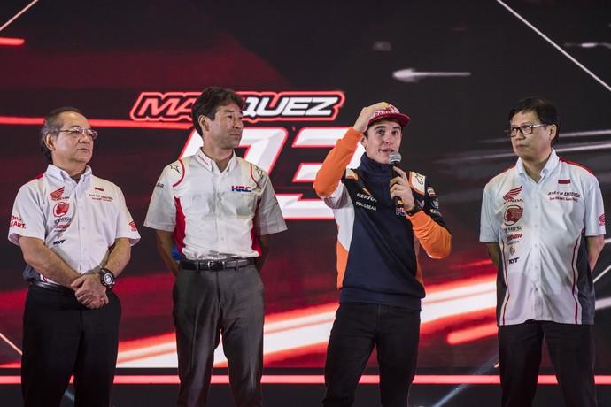 Pesona Marc Marquez di Peluncuran Tim Balap Astra Honda 2019