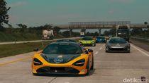 20 Mobil McLaren Ngegas di Trans Jawa
