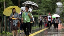 BMKG Prediksi Hujan Ringan Guyur Jakpus-Jakut Pagi Ini